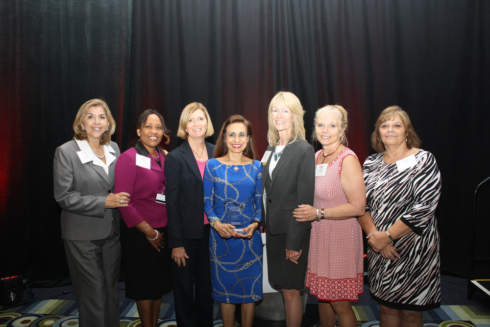 Kal Mistry with members of VITAS Healthcare's South Florida senior management team