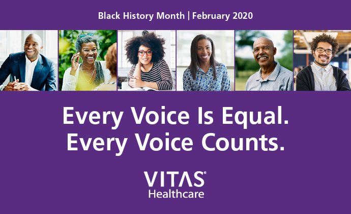 Black History Month: Every Voice is Equal, Every Voice Counts