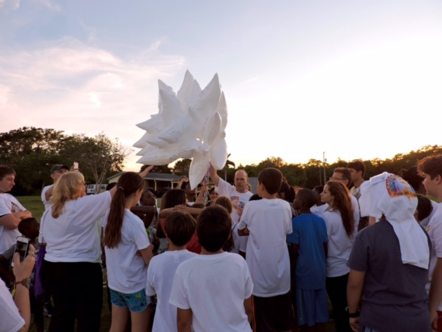 Camp VITAS Balloon Release