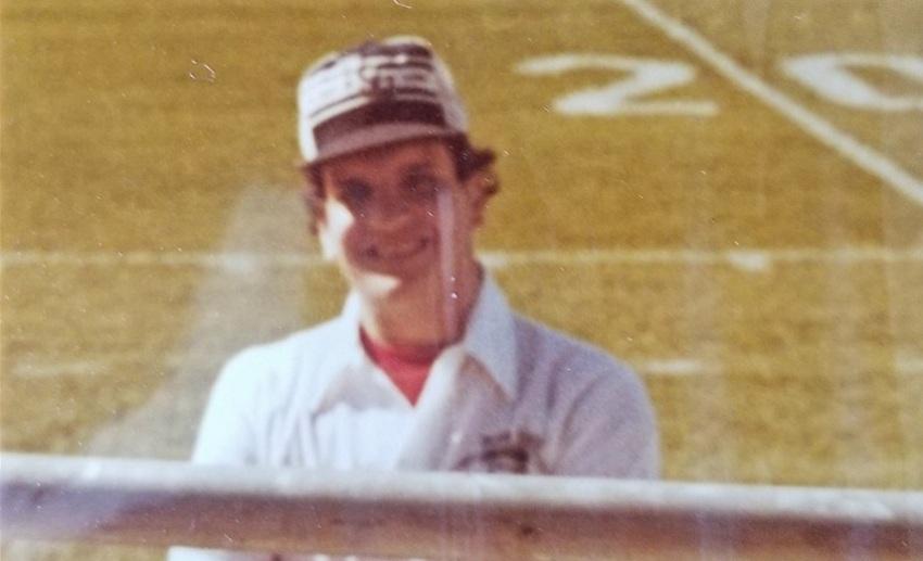 Ang pasyente ng VITAS na si Bob Bartolomeo sa Penn State noong 1980s