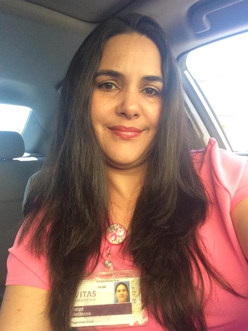 Yanet, enfermera de hospicio de VITAS