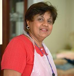 Una auxiliar de hospicio de VITAS